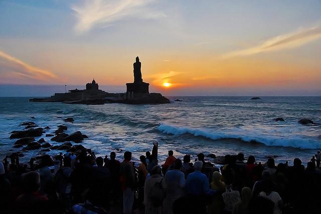 """南インドに来たら訪れたい町、神秘溢れるインド最南端の聖地""""カニャクマリ"""""""